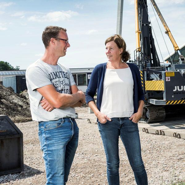 Hein en Petra Blom   Veld-Zicht
