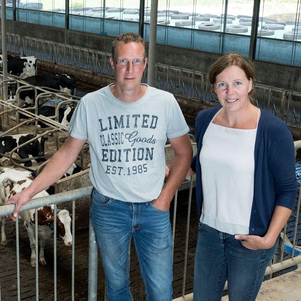 Hein en Petra Blom | Melkveehouderij Veld-Zicht